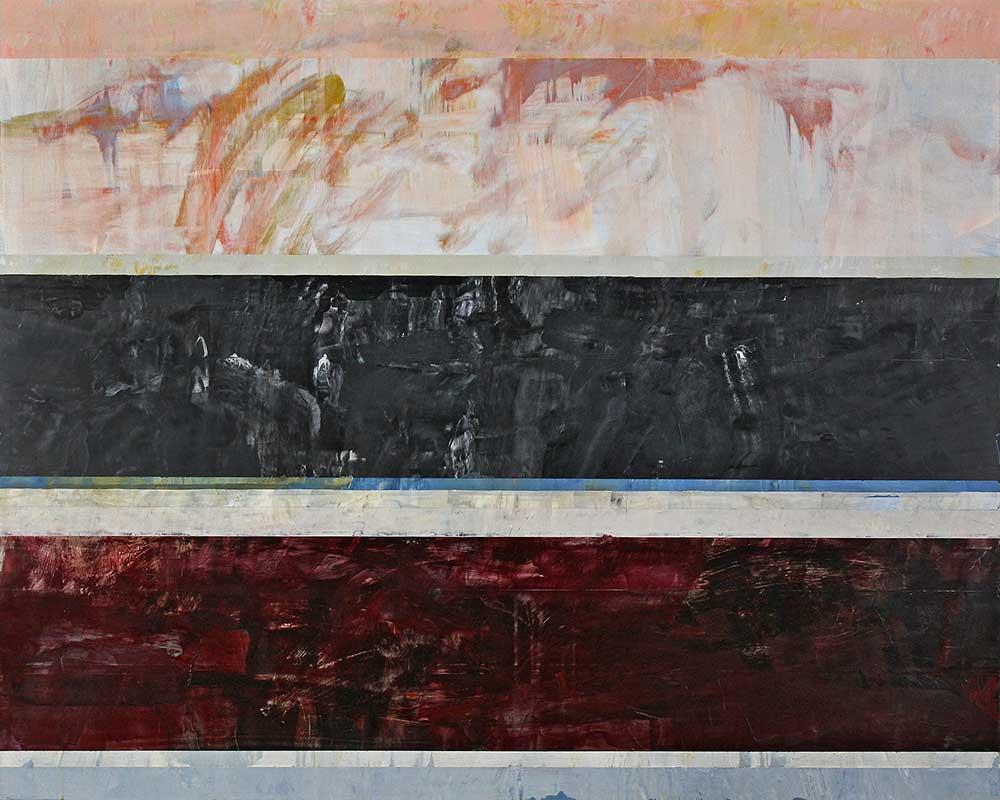 """The Sacrament, 2021, acrylic on aluminum panel, 48"""" x 60"""" by Clay Johnson"""